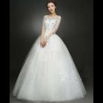 ウェディングドレス白