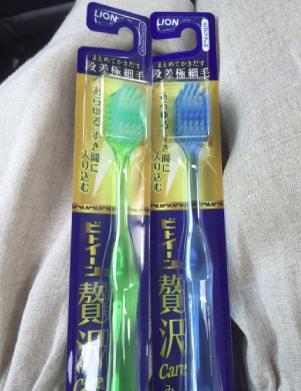 市川海老蔵愛用の歯ブラシ