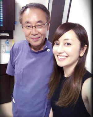 矢田亜希子行きつけの歯医者